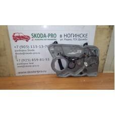 1Z1837655P 1Z1837655Q стеклоподъемник передний (механизм) шкода